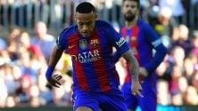 Spagna, il Barcellona blinda Neymar: 15 milioni l'anno e clausola da 250