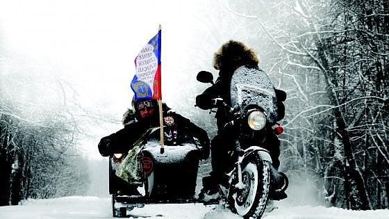 La ritirata di Russia in moto e sidecar