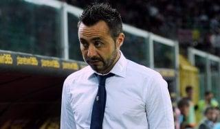 """Palermo, De Zerbi: """"Una sconfitta troppo pesante"""""""