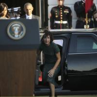 Renzi alla Casa Bianca, poi cena di Stato con Obama: fotoracconto