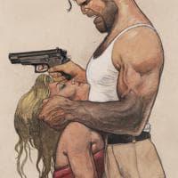 'Battaglia' integrale, la copertina variant è di Tanino Liberatore. Dieci tavole in anteprima