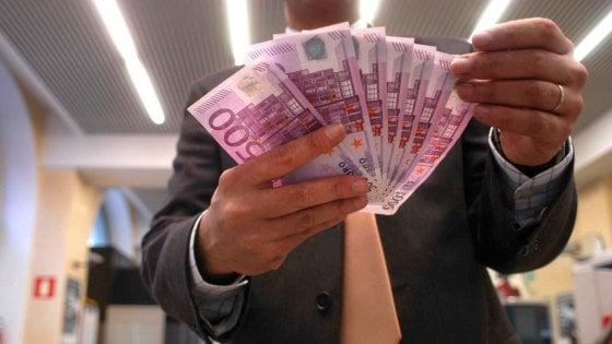 In Italia vince il contante: l'87% delle transazioni avviene in banconote