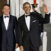 Renzi alla Casa Bianca, Obama: