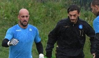 Napoli-Besiktas, Gabbiadini in panchina: Mertens falso nueve