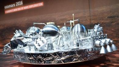 La sonda Schiaparelli arrivata su Marte  Ma manca ancora il segnale dell' ultimo minuto di