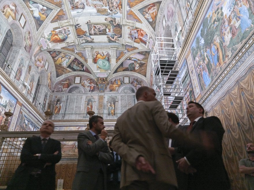 Cappella Sistina, l'illuminazione virtuosa modello per piazza San Pietro - Repubblica.it