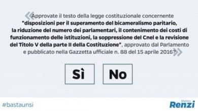 Referendum, respinto il ricorso presentato dalle opposizioni