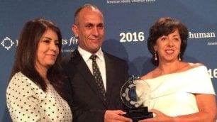 Salvano le donne yazide dall'Isis Onu premia la coppia irachena