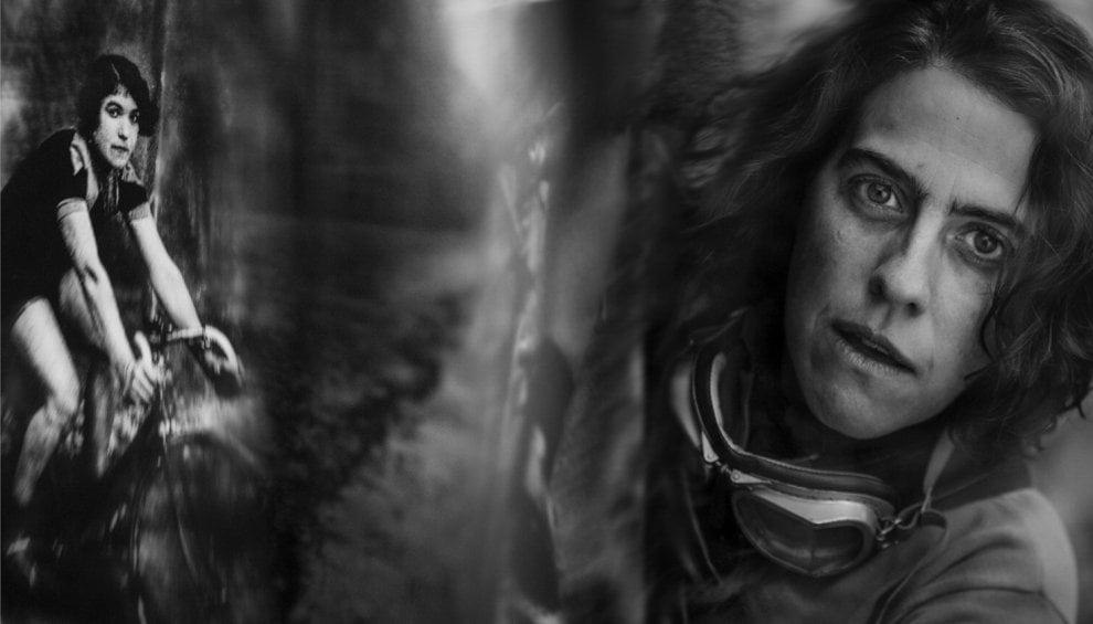 In bici sulle tracce di Alfonsina Strada, la prima donna al Giro d'Italia: il fotoprogetto
