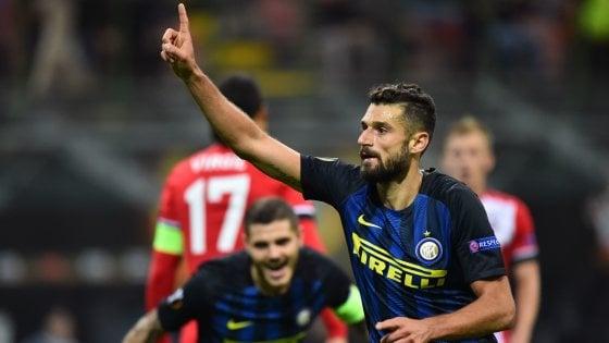 Inter-Southampton 1-0: Candreva scaccia la crisi, De Boer è salvo