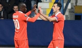 Slovan-Fiorentina 1-3: Kalinic e Babacar lanciano i viola da soli in vetta
