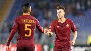 Roma, 3-3 con Austria Vienna   Rapid V.-Sassuolo 1-1