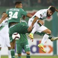 Rapid Vienna-Sassuolo 1-1, un autogol salva i neroverdi