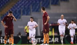 Roma-Austria Vienna 3-3, i giallorossi gettano al vento due punti