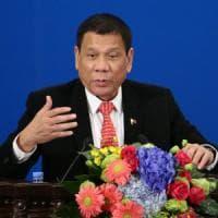 """Filippine, Duterte annuncia """"la separazione dagli Usa"""""""