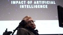 Hawking: l'intelligenza artificiale è il futuro dell'umanità
