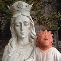 """Canada, il disastroso restauro del Gesù bambino: """"Sembra Maggie dei Simpson"""""""