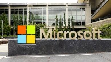 """La """"nuvola"""" fa volare Microsoft il titolo supera i massimi storici"""