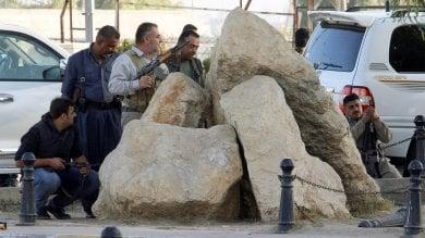 "Iraq, l'Isis lancia offensiva a Kirkuk     video    ""Ostaggi in moschea"". Coprifuoco in città"