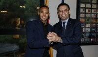 Neymar-Barca fino al 2021 E clausola da 200 milioni