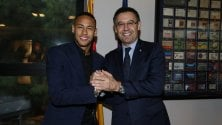 "Barça, Neymar rinnova clausola da 200 milioni ""Qui mi sento a casa"""