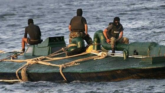Colombia, la Armada sequestra una tonnellata di cocaina: era nascosta in un minisommergibile