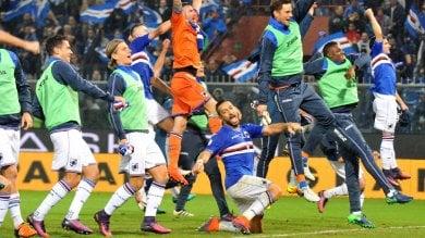 Un autogol e derby alla Samp Giampaolo aggancia l'Inter Genoa ko   foto     Le pagelle
