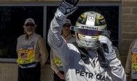 F1, Gp degli Stati Uniti: Hamilton in pole position davanti a Rosberg