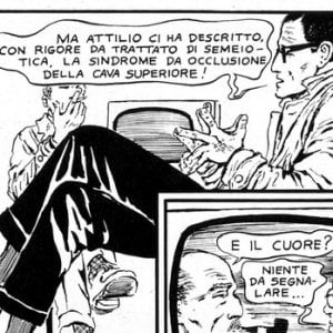 L'altra faccia di Guido Crepax. Gli anni in cui raccontava la medicina a fumetti