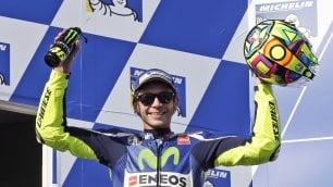 Cinque anni senza il Sic    Rossi gli dedica il podio