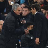 Chelsea travolge lo United: ma è polemica Mourinho-Conte