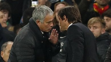 """Mourinho contro Conte dopo la batosta:  """"Non si aizza il pubblico se vinci 4-0""""   foto"""