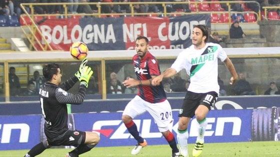 Bologna-Sassuolo 1-1: finale ancora amaro per i rossoblù, Matri li beffa