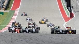 Hamilton attacca Rosberg Gp degli Stati Uniti  in diretta