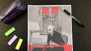 """Asaf Hanuka: """"Così racconto la vita di Saviano a fumetti"""""""