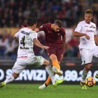 Roma-Palermo 4-1: i giallorossi non sbagliano e restano secondi