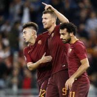 Le pagelle di Roma-Palermo: Dzeko si prende l'Olimpico, Posavec non ne indovina una