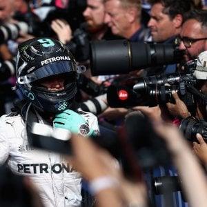 """Rosberg pensa al mondiale: """"Ho limitato i danni"""". Vettel: """"Meglio che in prova"""""""