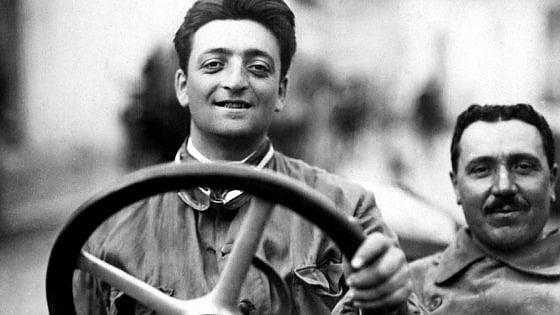 Enzo Ferrari:  vette e curve d'una vita