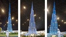 Burj Khalifa di 17 metri Il modellino da record   nella nuova Legoland    ft
