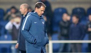 Inter, De Boer sempre più solo: scaricato dalla squadra e forse anche dal club