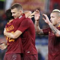 Dzeko si prende la Roma: