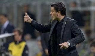 Milan, Montella non si fida: ''L'entusiasmo ti dà punti, l'euforia te li toglie''