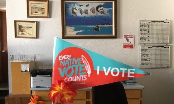 Per gli indiani d'America il diritto di voto resta una lotta