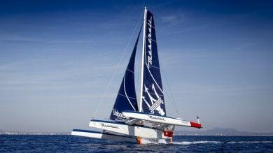 Vela, Soldini sul trimarano volante conquista la Rolex Middle Sea Race   video