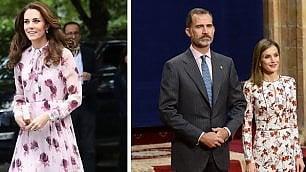 Letizia copia Kate Middleton? Il confronto tra reali