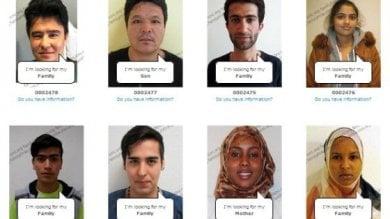 """""""Trace the Face"""" per i profughi -   Lo spot   bacheca online delle persone scomparse"""