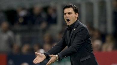 Il Milan sogna una notte da capolista Montella non si fida: ''Occhio a troppa euforia''