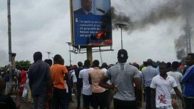 "Repubblica democratica del Congo  ""La polizia responsabile  del massacro a Kinshasa"""