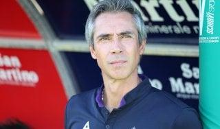 """Fiorentina, Sousa: """"Intensità e convinzione, o con il Crotone sarà dura"""""""